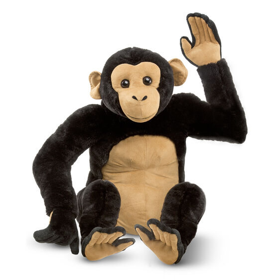 chimpanzee giant stuffed animal. Black Bedroom Furniture Sets. Home Design Ideas