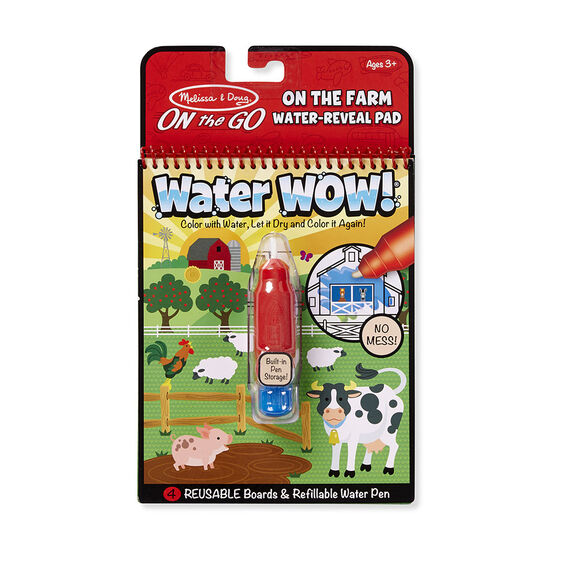 Water Wow! Farm - On the Go Travel Activity - Melissa And Doug