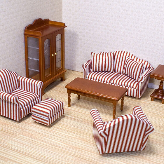 dolls house living room furniture living room furniture set amp doug 19894