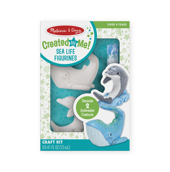 Decorate-Your-Own Sea Life Figurines