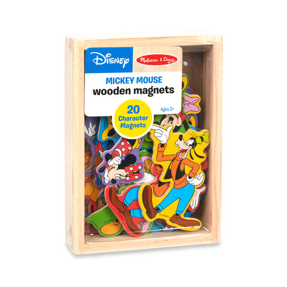 Disney Mickey Mouse Wooden Magnets