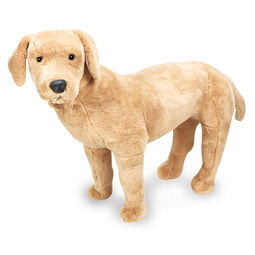 Yellow Lab stuffed animal