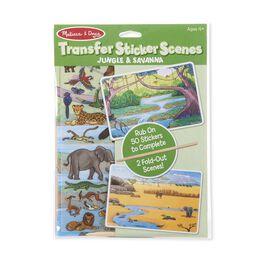 Transfer Sticker Scenes - Jungle and Savanna