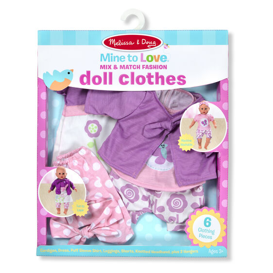 Mine To Love Mix Match Fashion Doll Clothes