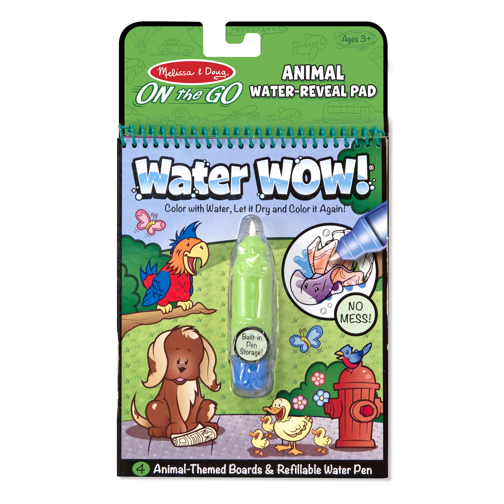 Water WOW! Animals - ON The GO Travel Activity Melissa & Doug