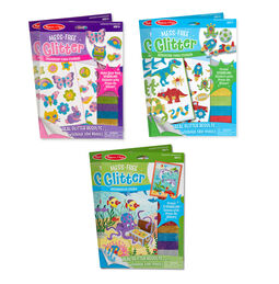Melissa & Doug Mess-Free Glitter 6-Piece Value Pack