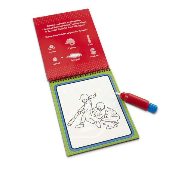 Water Wow! Sports Water-Reveal Pad - On the Go Travel Activity ...