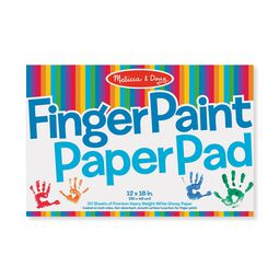 Finger Paint Paper Pad