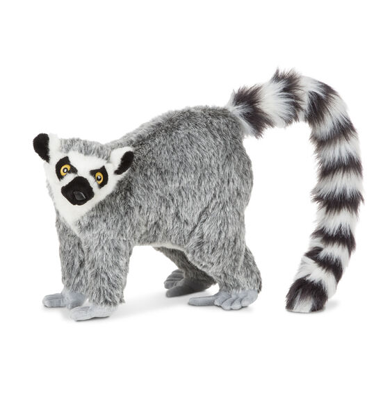 Lemur Lifelike Stuffed Animal Melissa And Doug