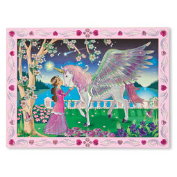 Mystical Unicorn Peel & Press Sticker by Numbers