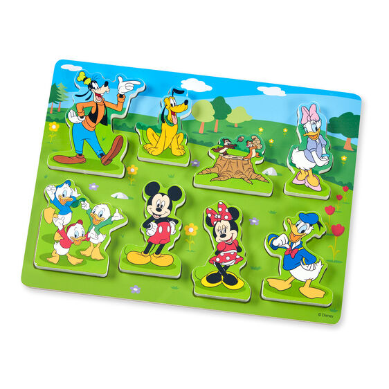 Disney Mickey Mouse Wooden Chunky Puzzle