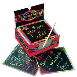 Scratch ArtR Box Of Rainbow Mini Notes