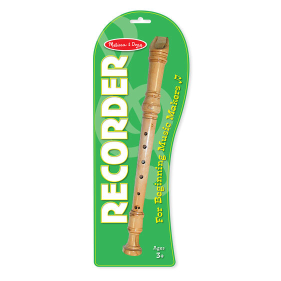 Wooden Beginner Recorder