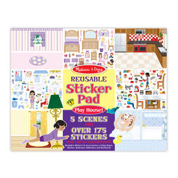 House reusable sticker book