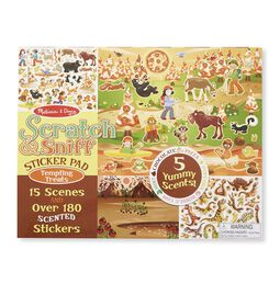 Scratch & Sniff Stcker Pad - Tempting Treats
