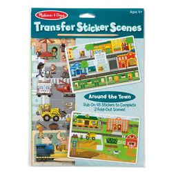Transfer Sticker Scenes - Around the Town