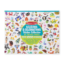 Seasons and celebrations sticker collection pad cover