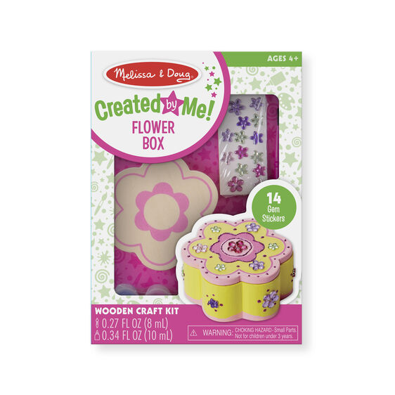 Created by Me! Flower Box Wooden Craft Kit