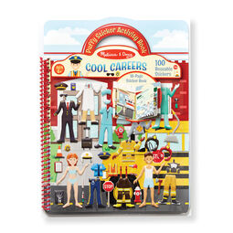 Puffy Sticker Activity Book - Cool Careers