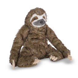 Lifelike Plush Sloth