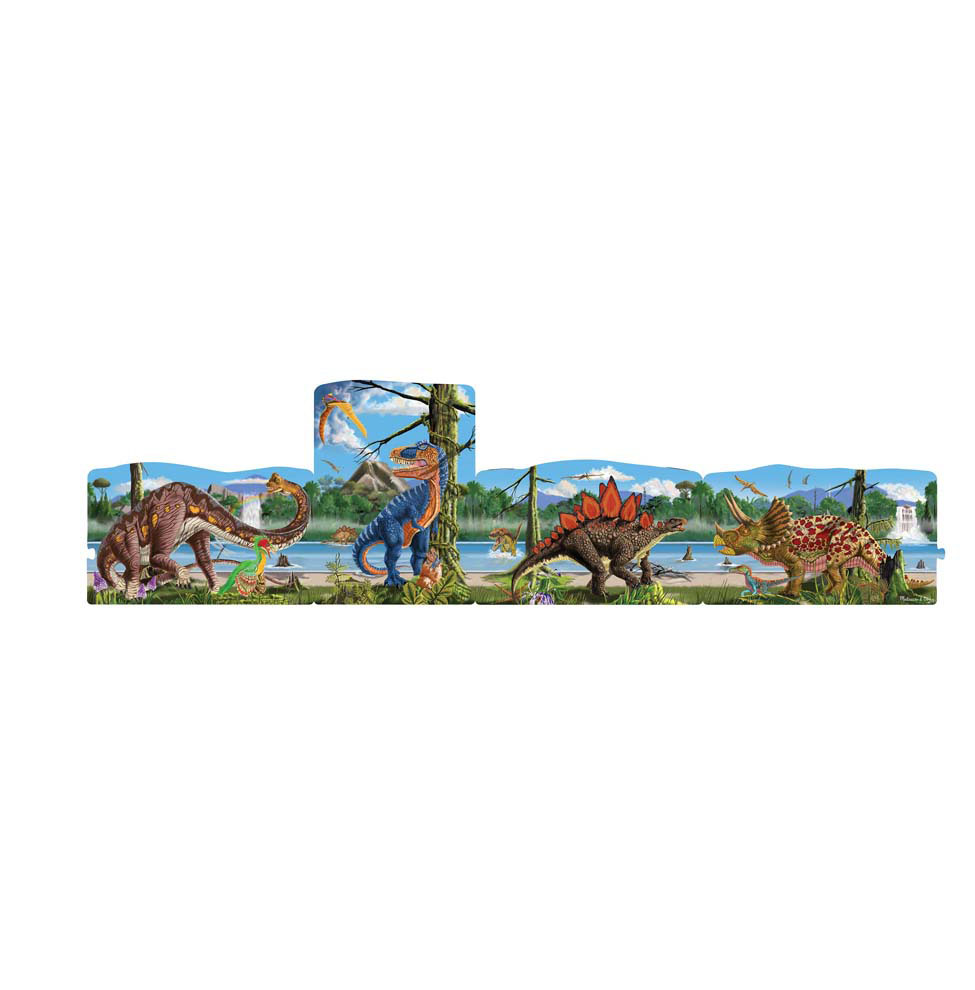 4 in 1 Linking Floor Puzzles  Dinosaurs