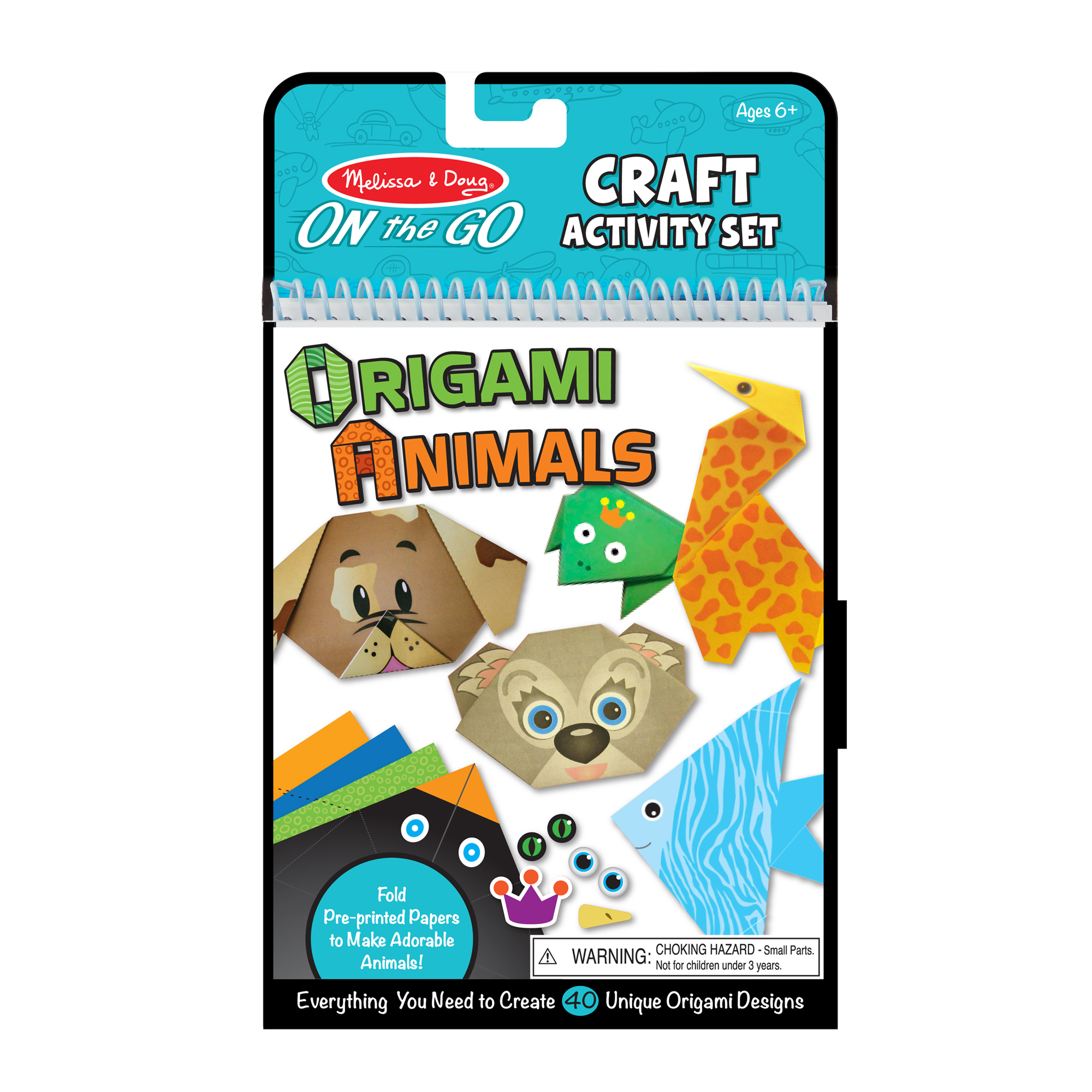 On-the-Go Crafts - Origami Animals 9442