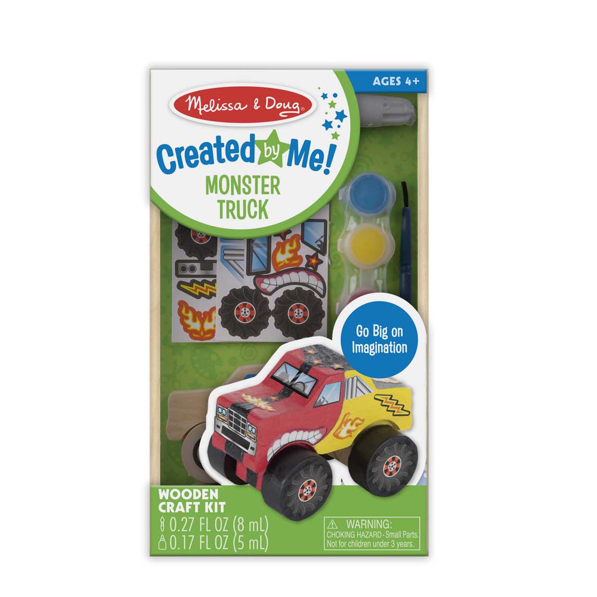 Decorate-Your-Own Monster Truck 9524