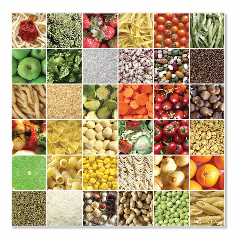 Square Meals Cardboard Jigsaw  500 Pieces