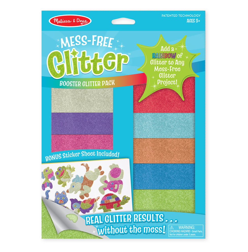 MessFree Glitter Booster Pack