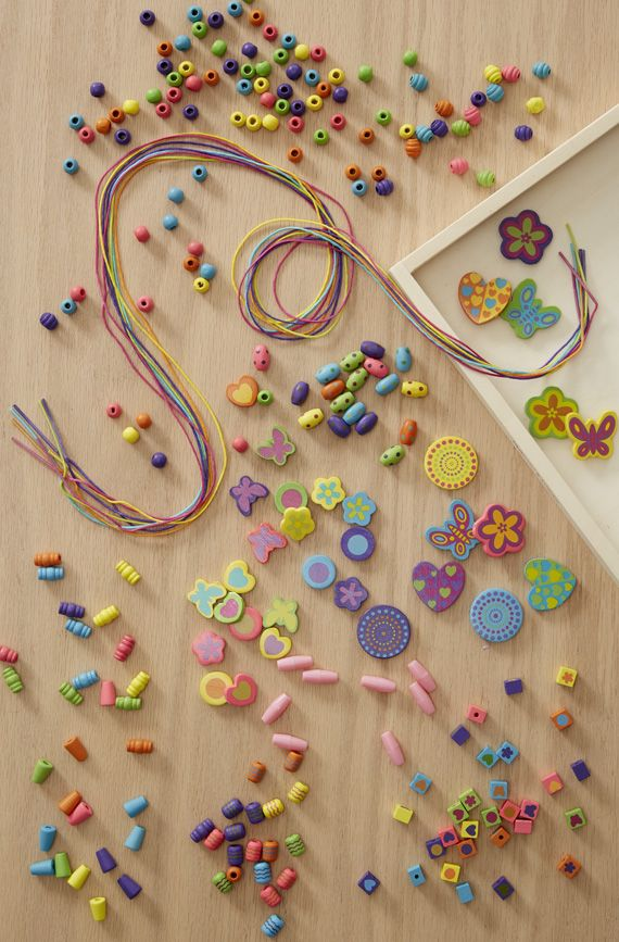 Created by Me! Bead Bouquet Wooden Bead Kit