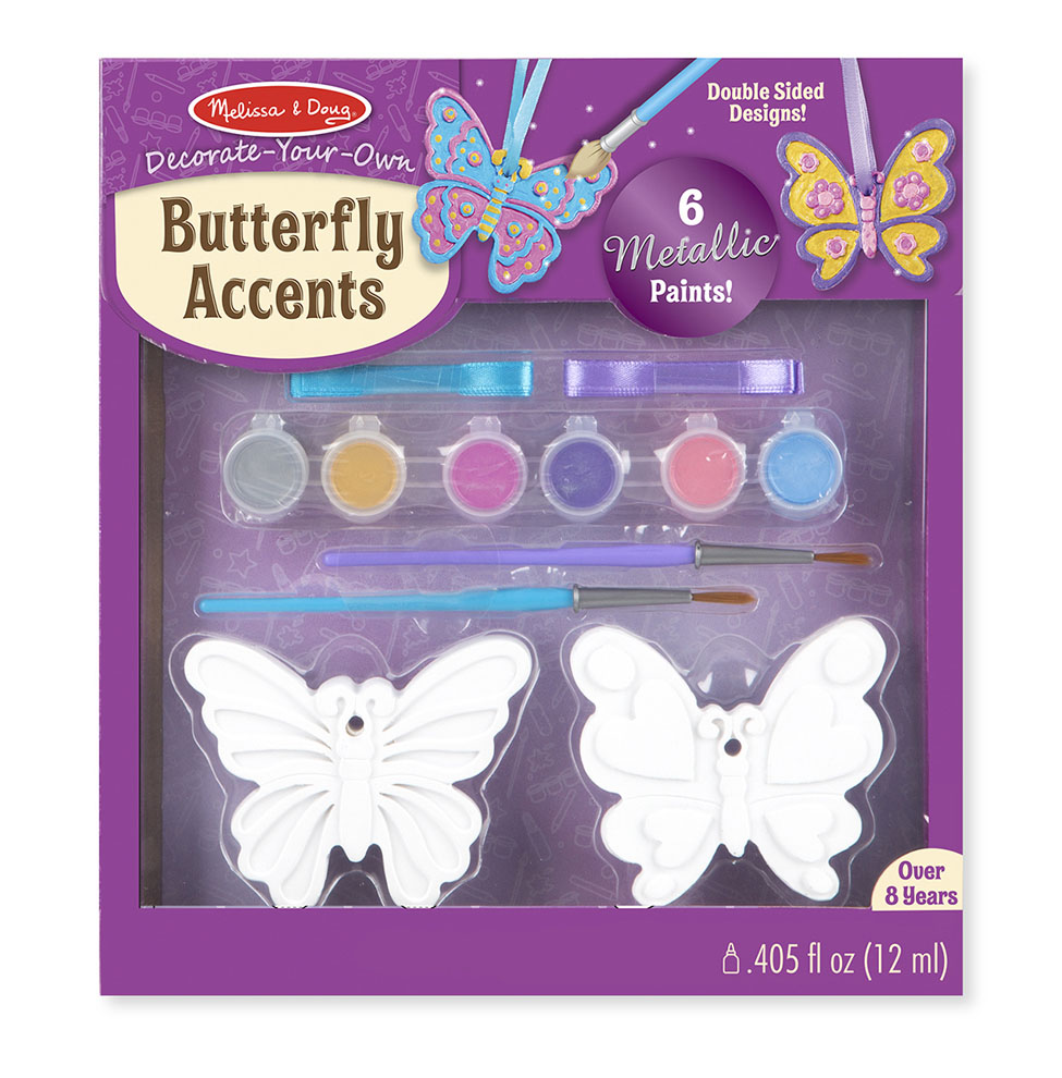 Decorate-Your-Own Butterfly Accents 9476