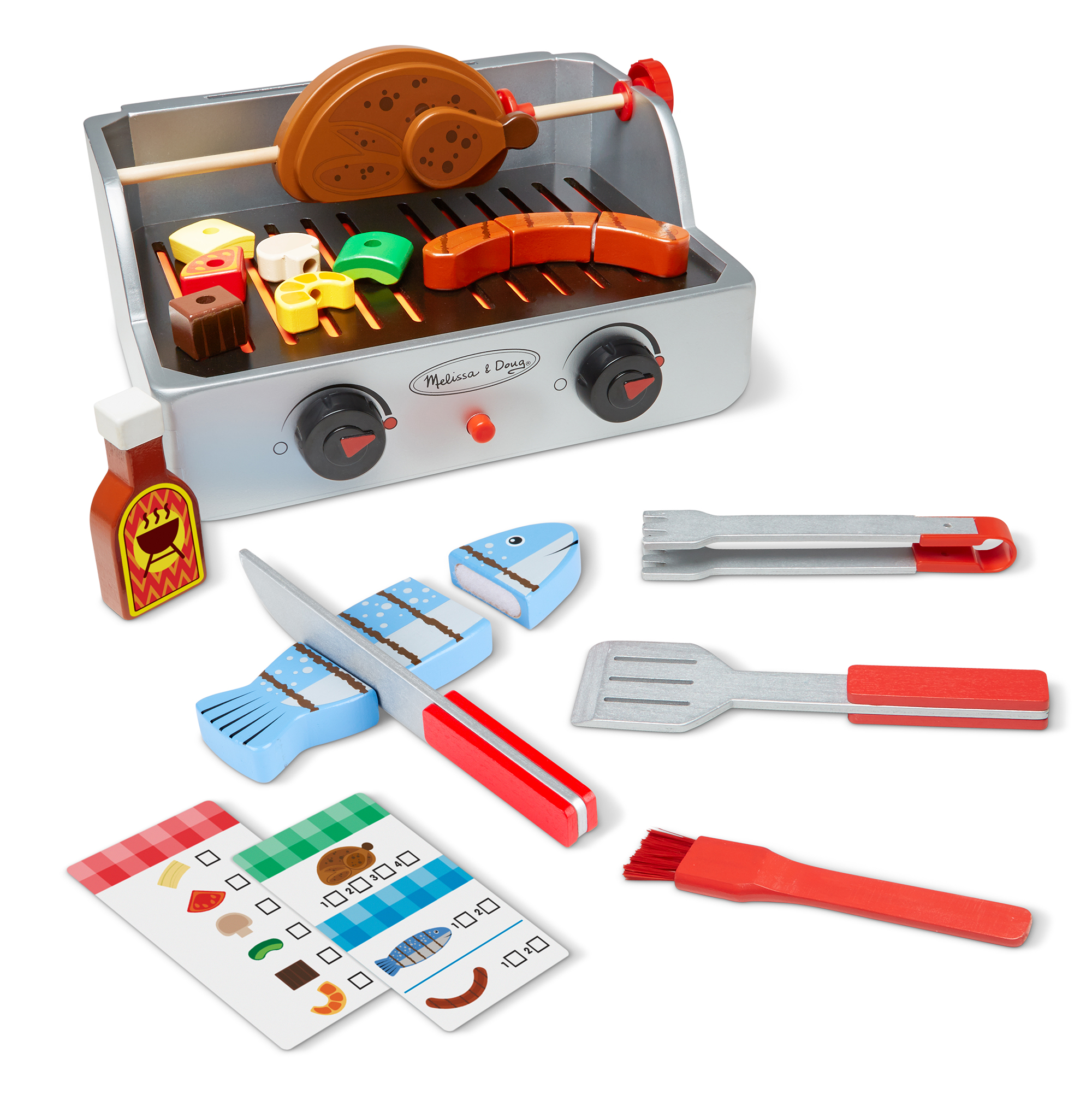 Rotisserie & Grill Barbecue Set 9269